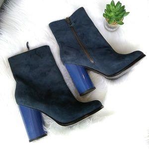 Aldo chunky heel ankle boots